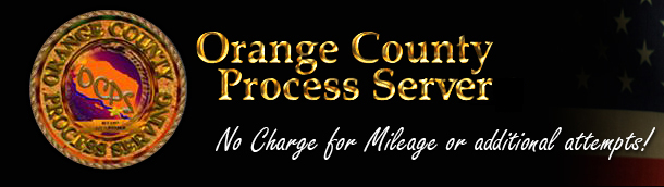 Orange County Process Serving logo